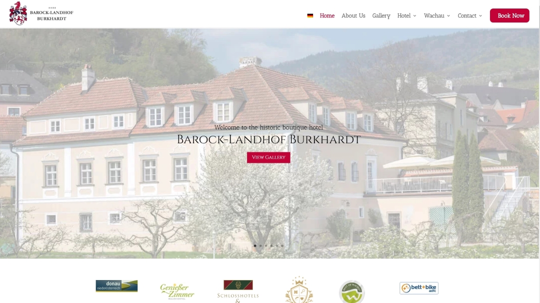 Barock-landhof Website