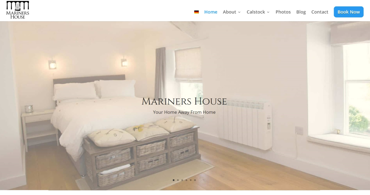 Mariners House Website