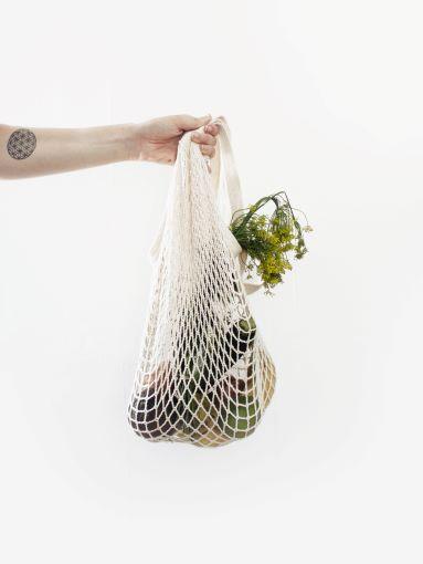 No plastic cloth bag fruit
