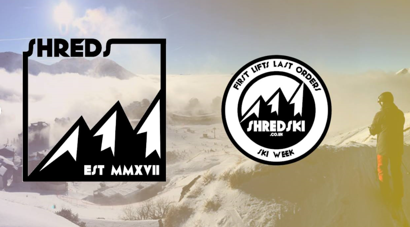 Shred Ski Logo